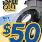 Brakes: BRAKE Out Savings
