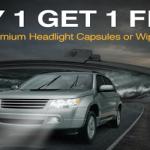 Buy 1 Get 1 Free NAPA Premium Headlight Capsules