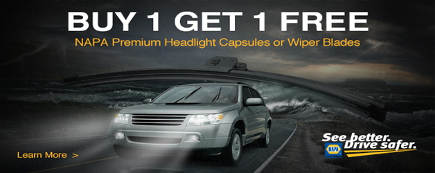 Buy 1 Get 1 Free NAPA Premium Headlight Capsules