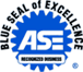 Automotive Service Excellence (ASE) Blue Seal Certified - Employing ASE-Certified Technicians helps your customers.