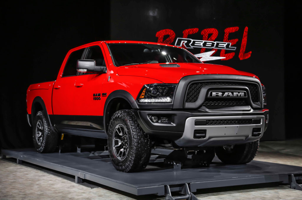 Dodge Ram 1500 Rebeltruck