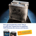 Fact: Cold Weather Kills Batteries! Get $20 Back on Your Battery!
