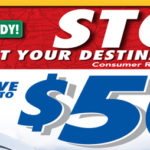 $50 Prepaid Visa Card when you have quality NAPA Brakes products installed!