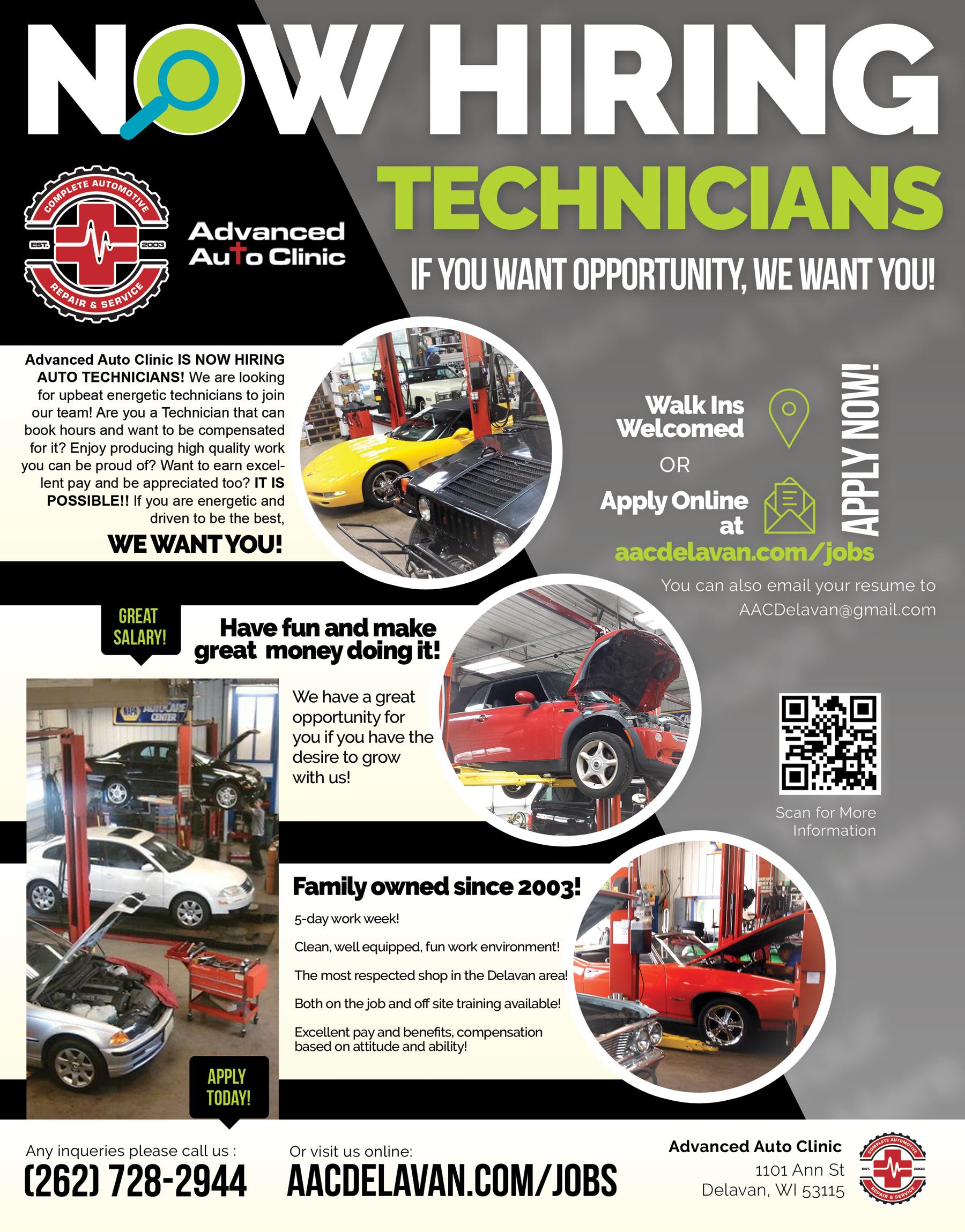 Advanced Auto Clinic Delavan Automotive Repair Shop Near