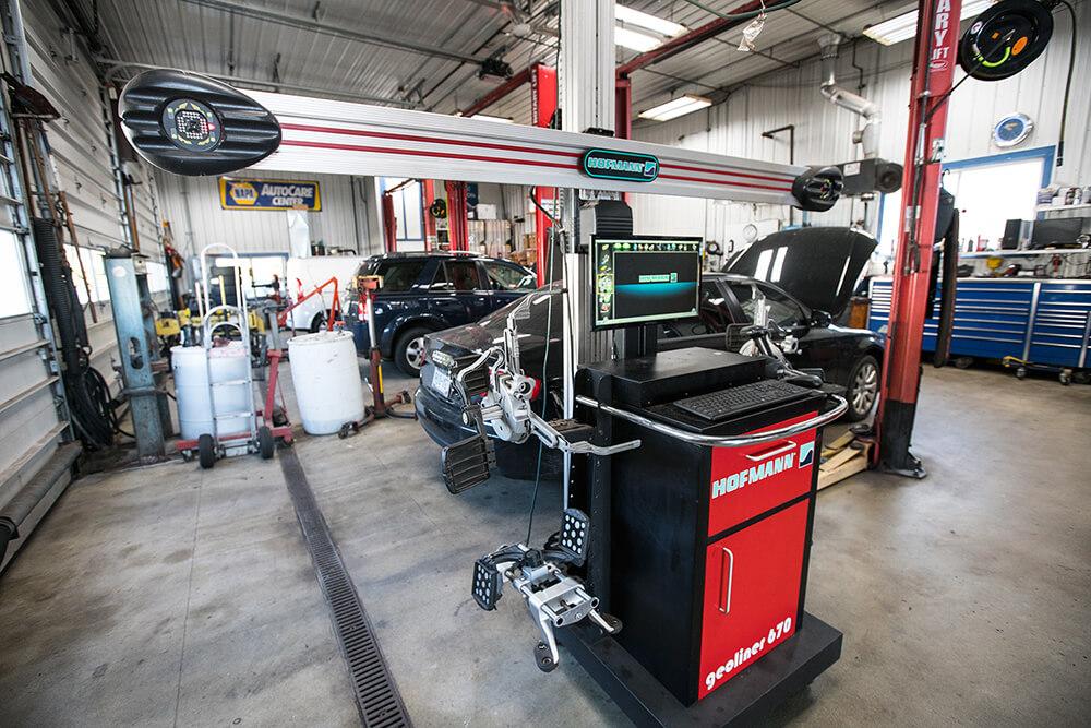 Automobile Repair Services In Delavan Quick Car Oil Change Auto Repair - Mechanic shop flooring