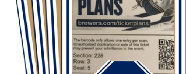 ENTER TO WIN (4) FREE BREWERS TICKETS TO THE AUG. 22nd GAME vs the Cincinnati Reds!